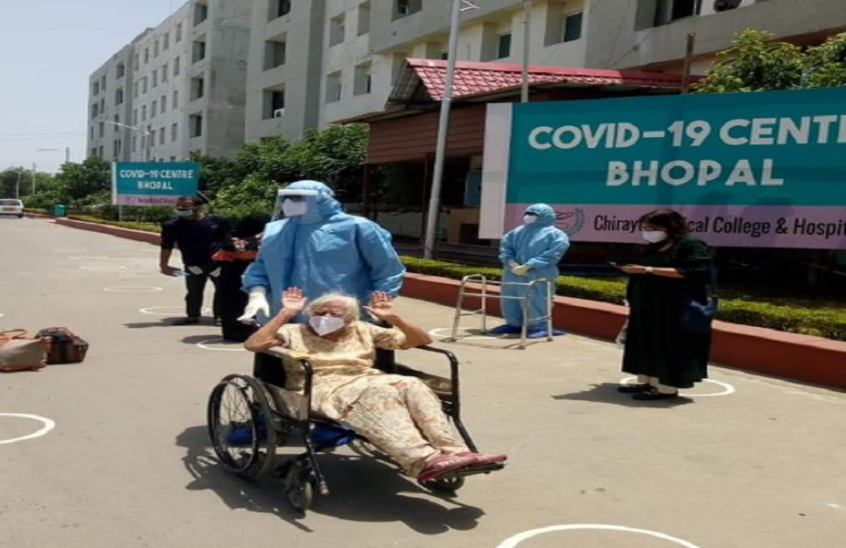 3-day-old child and 84-year-old woman beat Corona | bhopal – News in Hindi