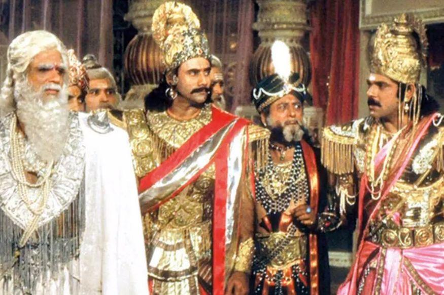 Mahabharat, Dead Soldier, Dead Soldier arise in mid shoot of Mahabharat, Mahabharat Viral Video, BR Chopra, Doordarshan, Mahabharata war scene, रामायण, महाभारत, बीआर चोपड़ा , दूरदर्शन, महाभारत वॉर सीन, Entertainment, Entertainment News, Mahabharat Viral Scene, Lockdown, Coronavirus, Bhishma Pitamah, Bhishma Pitamah Arrow