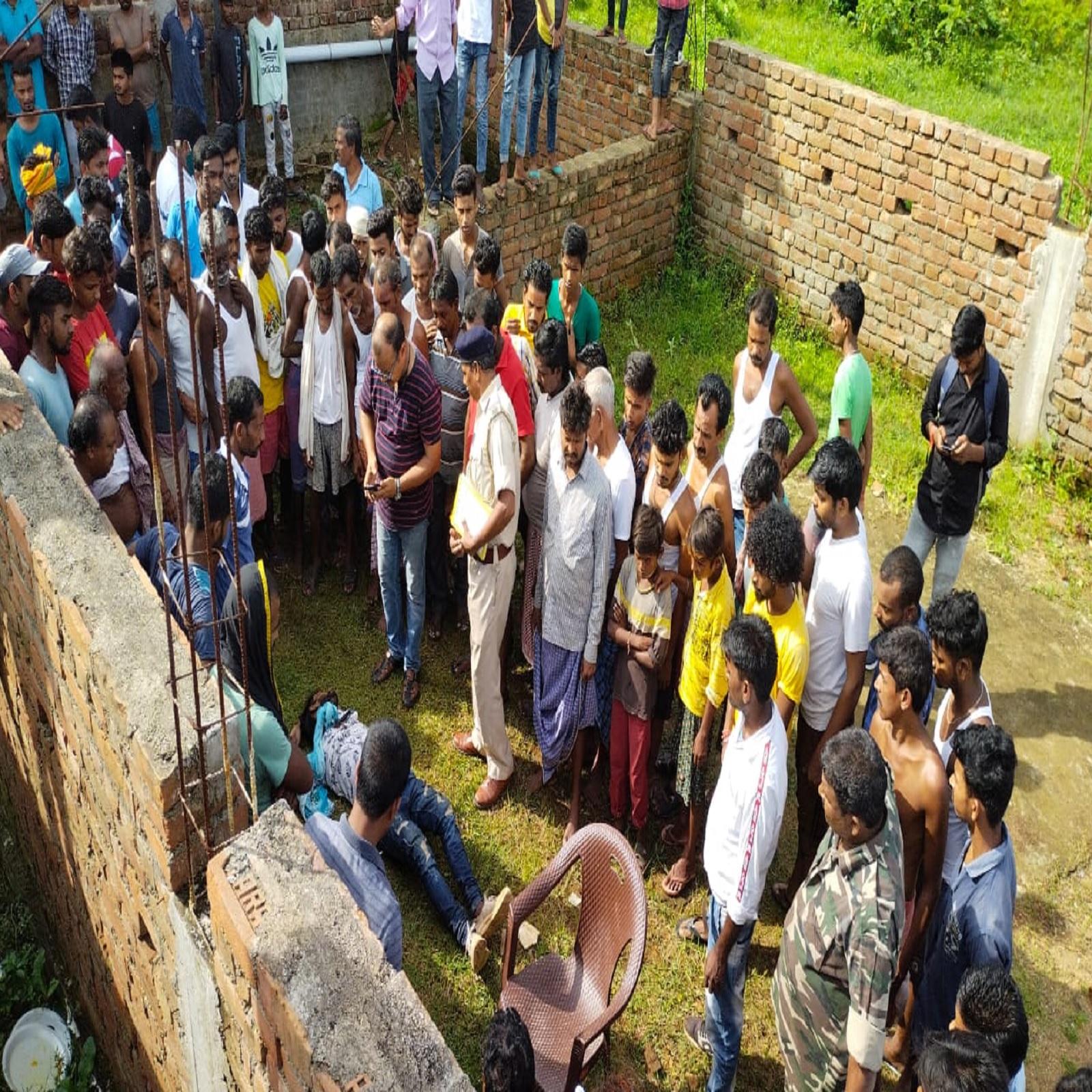 man who did intercaste marriage his body found hanging in under  construction pillar wife commit suicide year before nodmk3 - Dumka News:  बगावत कर की थी इंटरकास्ट मैरिज, पहले युवती ने किया