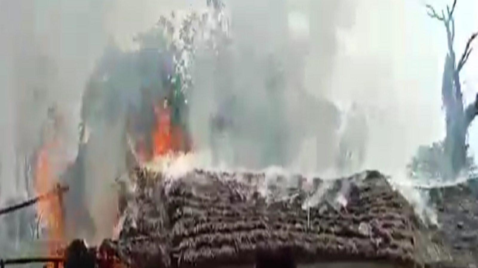 बस्ती: दबंगों का कहर, गरीब परिवार को जमकर पीटा, झोपड़ी फूंकी, 20 के खिलाफ FIR