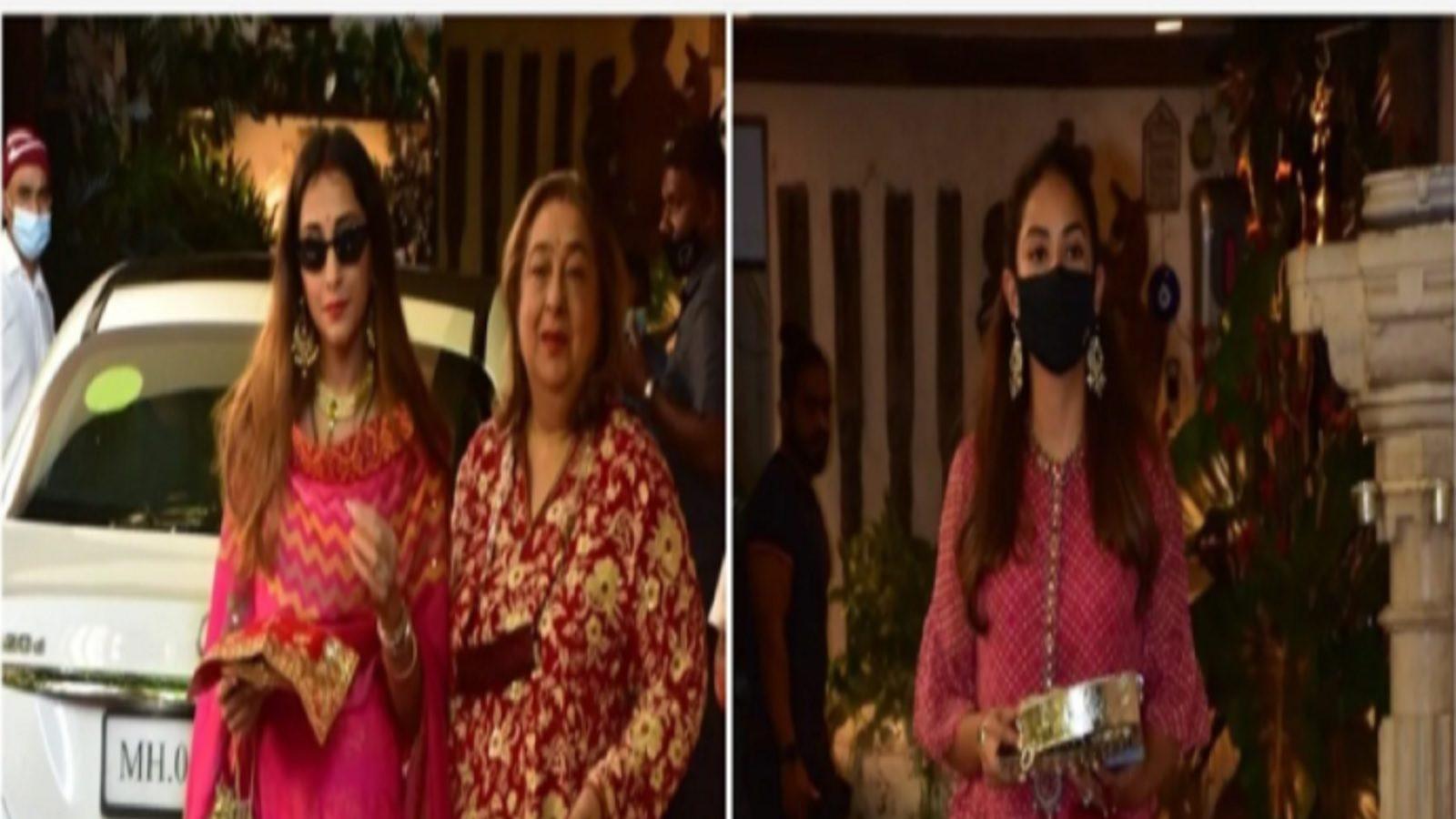 Karwa Chauth 2021 Moonrise Timings Live: मीरा राजपूत अनिल कपूर के घर करवा चौथ मनाने पहुंचींं , देखें तस्वीर