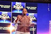 NEWS18 Rising India में बोले राजनाथ- आंतरिक सुरक्षा के लिए खतरा नहीं JNU