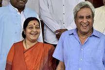 सुषमा ने कहा- नहीं लड़ूंगी अगला चुनाव, पति बोले- मिल्खा ने भी बंद कर दिया था दौड़ना