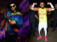 रणवीर सिंह का फैशन सेंस सबसे जुदा है. उनके कपड़े और जूते ना सिर्फ डिजाईन में सबसे हटके होते हैं बल्कि रंग और प्रिंट भी ऐसे होते हैं जो किसी को भी दोबारा मुड़कर देखने को मजबूर कर देते हैं.