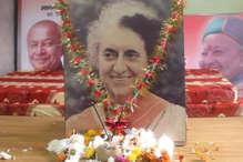 इंदिरा की पुण्यतिथि व पटेल की जयंती पर कांग्रेस के नेताओं ने अर्पित किए श्रद्धासुमन