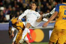 चैम्पियंस लीग : रोनाल्डो ने तोड़ा रिकॉर्ड, दागे सबसे ज्यादा गोल