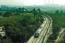 लक्ष्मण झूले के नमूने पर बना एक अनोखा मेट्रो पुल!