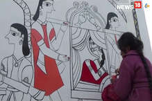 रेलवे की पहल से मिथिला पेंटिंग में रंगने लगा दरभंगा जंक्शन