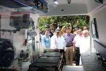 MP का पहला जिला अस्पताल जहां लाइफ सपोर्ट एम्बुलेंस की मिलेगी सुविधा