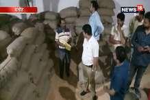 सरकारी अनाज से भर रहे हैं दलालों के गोदाम, सवा सौ क्विंटल गेहूं जप्त