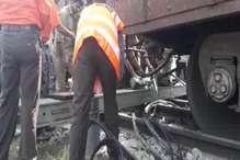 बिजनौर: मुरादाबाद जाने वाली मालगाड़ी के 4 डिब्बे पटरी से उतरे