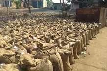गेहूं खरीद में घपलेबाजी, गोदाम से 600 क्विंटल अमानक गेहूं जब्त