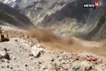 VIDEO: मनाली-लेह हाईवे पर बादल फटने के बाद दिखा 'पागल नाले' का रौद्र रूप!