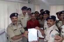दो राज्यों में पलामू पुलिस की छापेमारी, लूट के 47 लाख 50 हजार रुपये बरामद