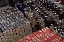 दुरंतो एक्सप्रेस से पांच लाख रुपए मूल्य के विदेशी शराब बरामद, 13 गिरफ्तार