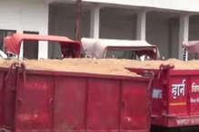 खनिज विभाग ने अवैध रेत परिवहन करते वाहनों पर की कार्रवाई
