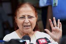 सुमित्रा महाजन ने कांग्रेस को दिया चैलेंज, इंदौर में उतारें ऐसा उम्मीदवार