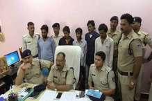 सिंगरौली पुलिस ने दस लाख रुपये की हेरोइन के साथ पांच किए गिरफ्तार