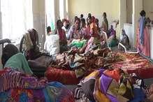 VIDEO: मरीजों के लिए सदर अस्पताल गुमला में जगह कम पड़ गई