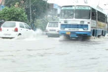 VIDEO: यमुनानगर में बारिश से फिर नदियों में तब्दील हुईं सड़कें