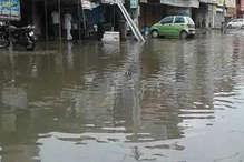 भारी बारिश से दादरी हुआ पानी-पानी, जलनिकासी के दावे हुए हवा
