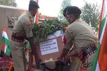 पाक रेंजर्स की बर्बरता का शिकार हुए शहीद नरेंद्र की अंतिम यात्रा में उमड़ा जनसैलाब