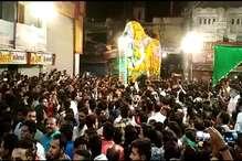 VIDEO: मुहर्रम पर शाजापुर में निकाला बड़े साहब का जुलूस