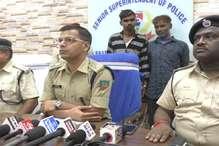 दो अंतरराज्यीय वाहन चोर गिरफ्तार, कार बरामद