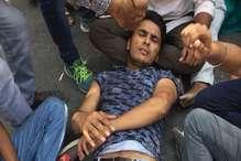 छात्रसंघ चुनावों को लेकर विरोध प्रदर्शन, पुलिस ने किया लाठीचार्ज