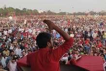 PHOTOS : गांधी मैदान में इस तरह हुई कन्हैया कुमार की पॉलिटिकल लॉन्चिंग