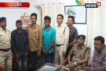 VIDEO: ट्रेनों में चोरी करने वाले तीन बदमाश गिरफ्तार, चार लाख का माल बरामद