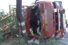 कोहरे का कहर: बदायूं में DCM पलटने से दो लोगों की मौत