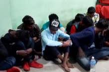 VIDEO: अवैध हुक्का बार में पुलिस का छापा, पकड़े गए 20 युवक-युवतियां