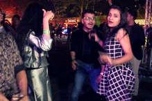 मिनी मुंबई में नए साल की धूम, कुछ इस अंदाज में युवा मना रहे जश्न