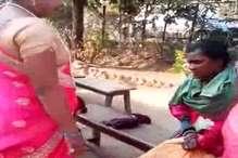 थाने में किन्नरों ने नकली किन्नर के कपड़े फाड़े और काटे बाल, VIDEO हुआ वायरल