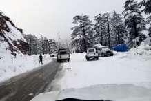 सावधान! शिमला की सड़कें हुईं खतरनाक, छोटे वाहनों की आवाजाही पर रोक