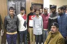 विकास हत्याकांड के मुख्य शूटर सहित सात गिरफ्तार, तीन पिस्टल बरामद
