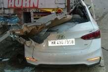 अयोध्या: खड़े कंटेनर में घुसी कार, पति-पत्नी सहित तीन लोगों की मौत