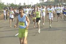 VIDEO: रायपुर हाफ मैराथन में 31 हजार लोगों ने लिया हिस्सा