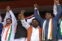 पलामू में हुई 'कांग्रेस लाओ-देश बचाओ' महारैली में भाजपा पर साधा निशाना