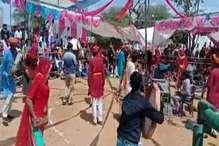VIDEO: तारानगर के सात्यूं में हुआ फागोत्सव, चंग व बांसुरी की धुनों ने मन मोहा