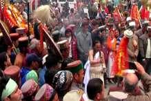 VIDEO: मंडी शहर को बुरी शक्तियों से बचाने के लिए सुरक्षा कवच दे गए देव आदि ब्रह्मा