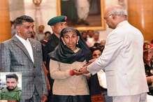 हिमाचल के शहीद अजय कुमार को मरणोपरांत शौर्य चक्र, राष्ट्रपति ने नवाजा