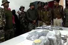 10 लाख के इनामी सहित दो नक्सली गिरफ्तार, एके-56 व एके-47 बरामद