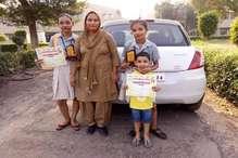 भिवानी में तेज रफ्तार डंपर ने स्कूटी को मारी टक्कर, दो बेटियों सहित मां की मौके पर मौत