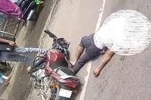 भिवानी में ट्रक ने बाइक को मारी टक्कर, पूर्व सैनिक के बेटे की मौत