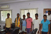 बीजापुर से एक लाख इनामी सहित 6 नक्सली गिरफ्तार