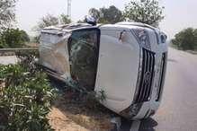 सड़क दुर्घटना में बाल-बाल बचे द्वाराहाट विधायक नेगी