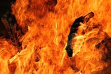 रायपुर के न्यू सर्किट हाउस में लगी आग