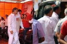 CM जयराम ठाकुर की रैली में पहुंचे MLA अनिल शर्मा, कुर्सी न मिलने पर लौटे